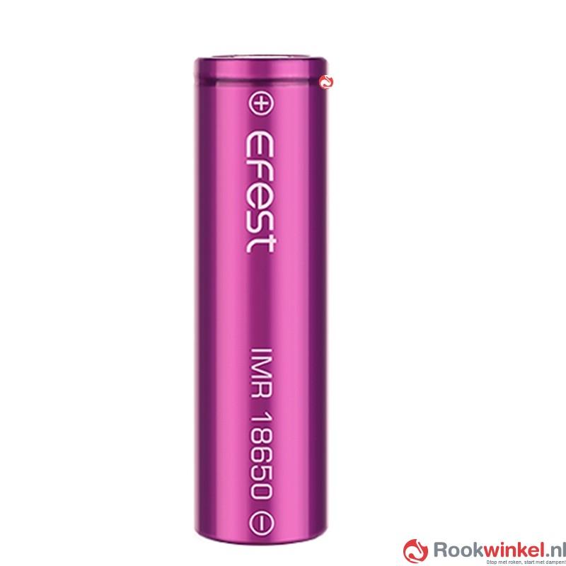 Efest IMR 18650 Batterij