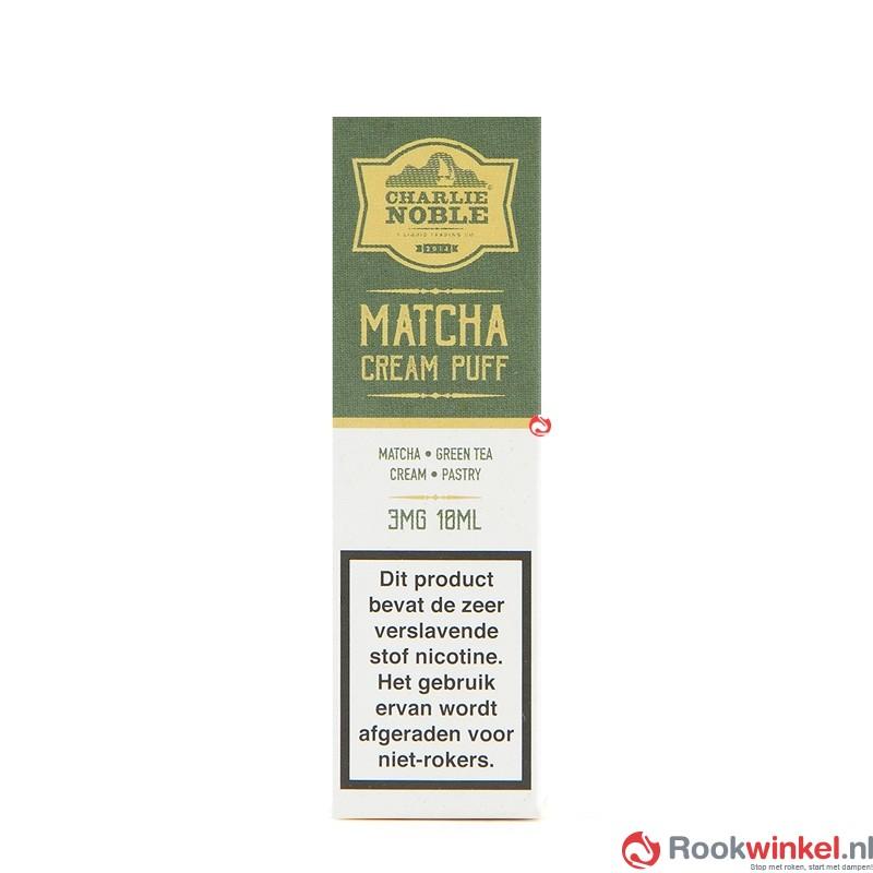 Matcha Cream Puff