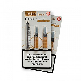 Zensations Set Cartomizer Tobacco 12mg