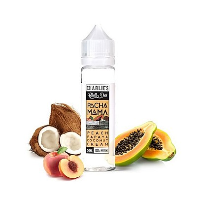 Peach, Papaya, Coconut Cream