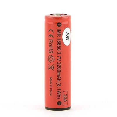 AW18650 Batterij