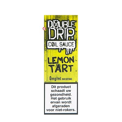 Double Drip Lemon Tart