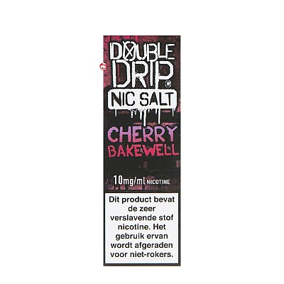 Double Drip Cherry Bakewell Nic Salt