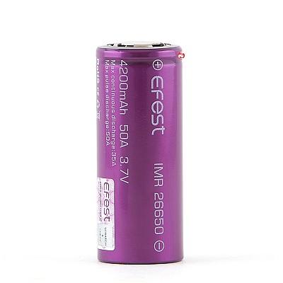 Efest IMR 26650 Batterij