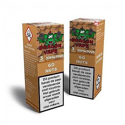 Dragon Vape Go Nuts E-liquids