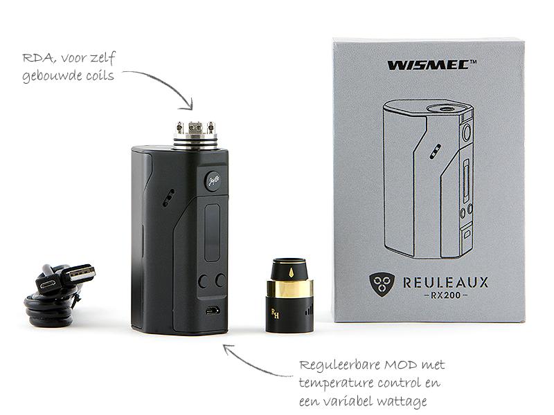 Wismec Reuleaux RX200