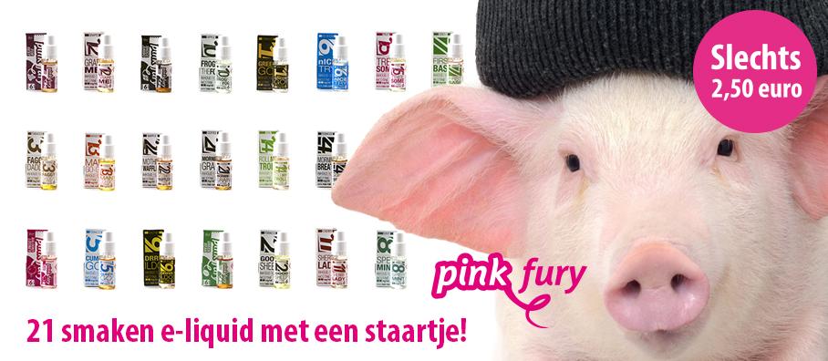 E-liquid Pink Fury - Rookwinkel.nl