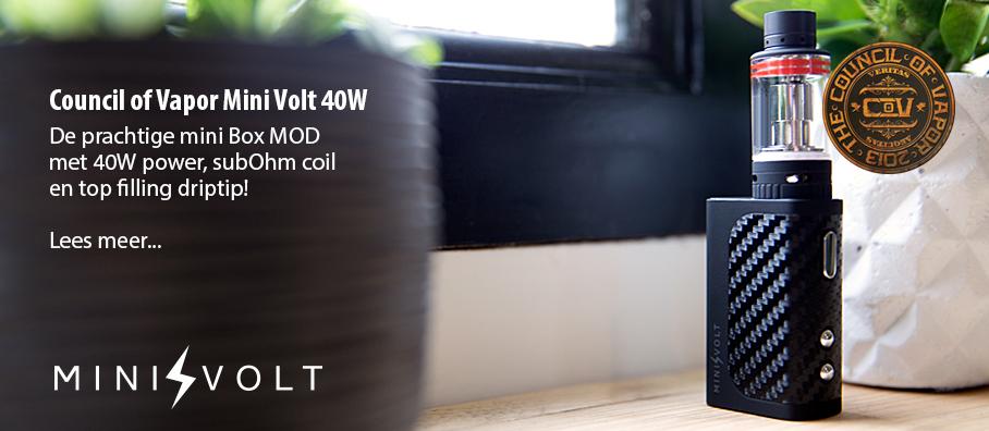Council of Vapor Mini Volt 40W Box MOD