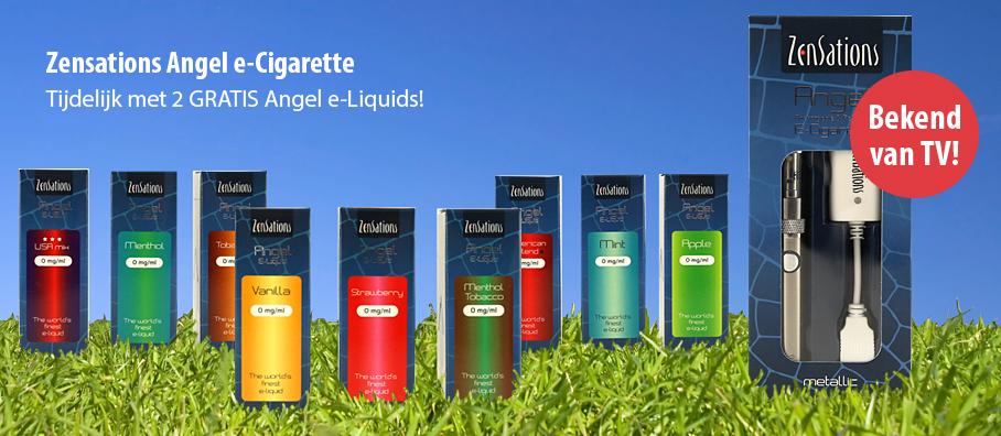 Zensations e-Sigaret bekend van TV!
